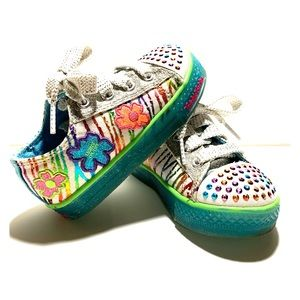 Girl's Twinkle Toes Skechers Light Up Shoes